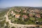 תצלום אויר - מבט ממערב